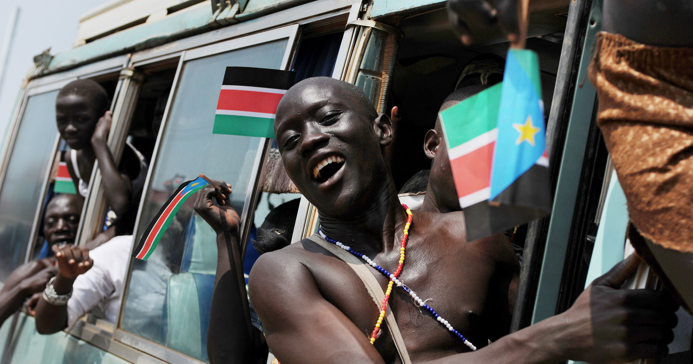 An independence rally in South Sudan - by Africa Renewal