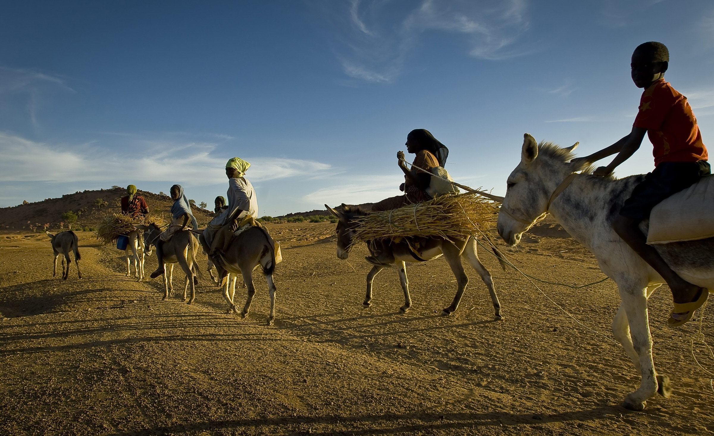 Dafurian refugees in Eastern Chad - by F. Noy
