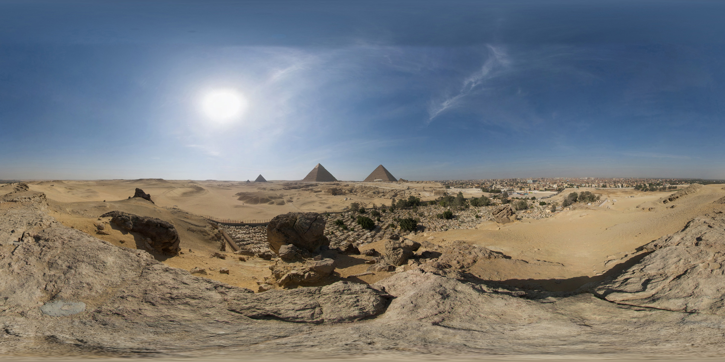 Giza Pyramids, Egypt - by Jason Quinlan