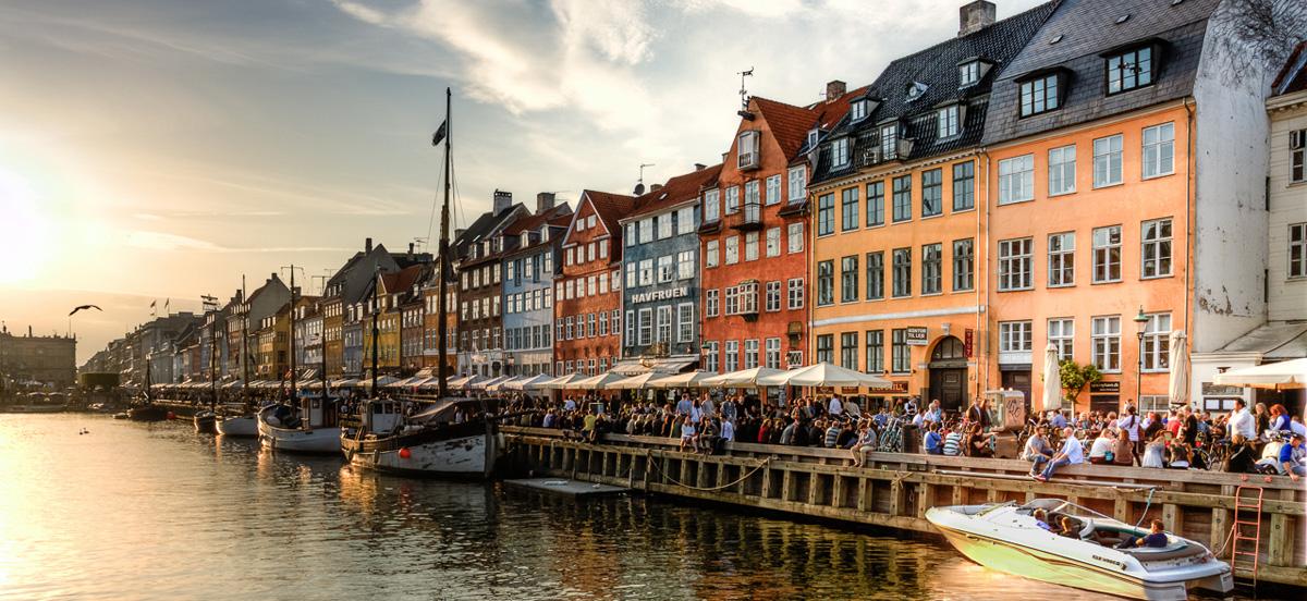 Nyhavn Canal in Copenhagen, Denmark - by Andrea Minoia