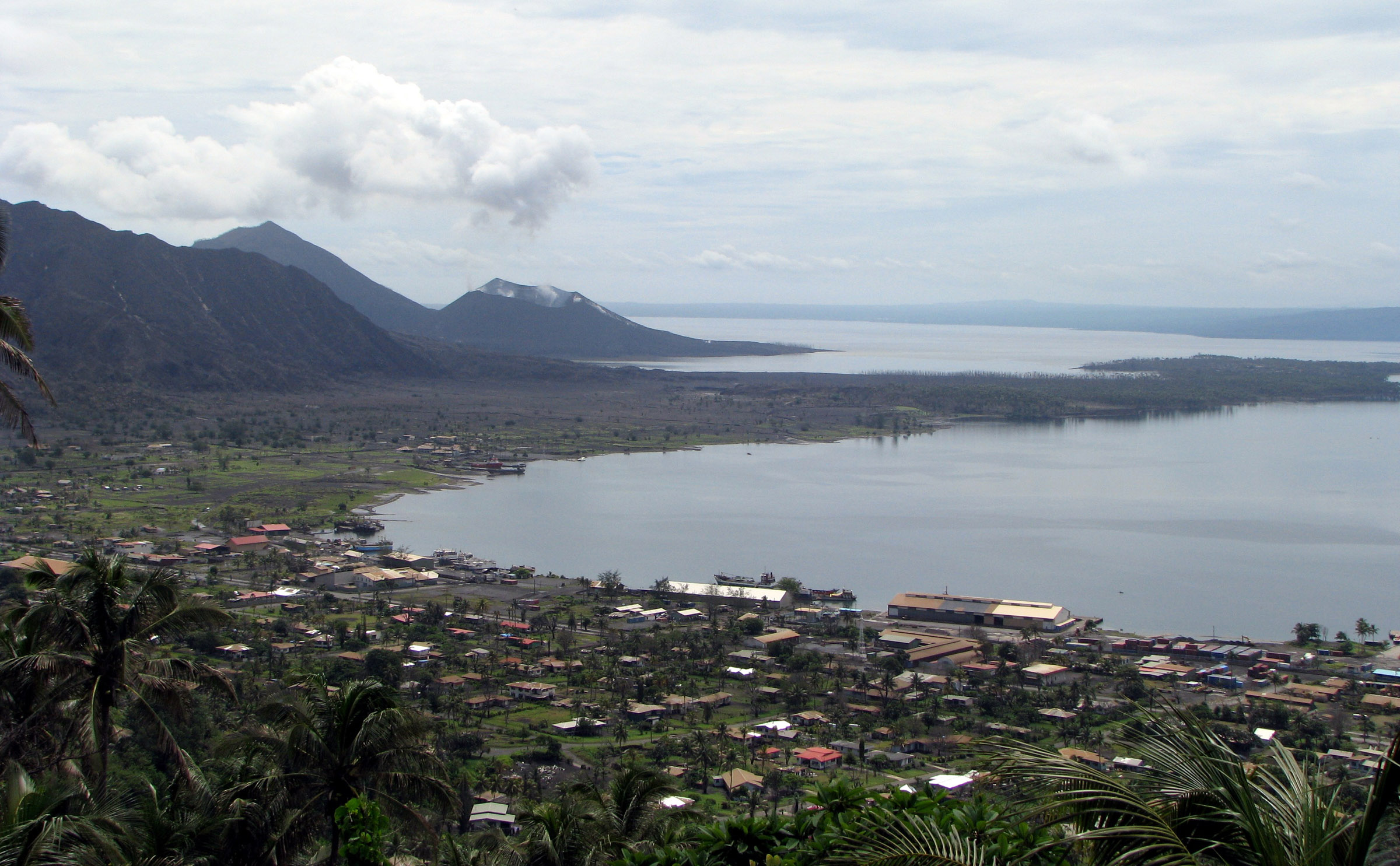 Rabaul Harbor, Papua New Guinea - by Kahunapule Michael Johnson