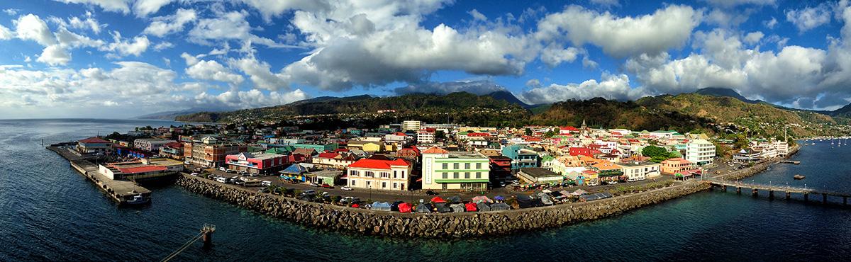 Saint George, Roseau, Dominica - by Edgar Barany C
