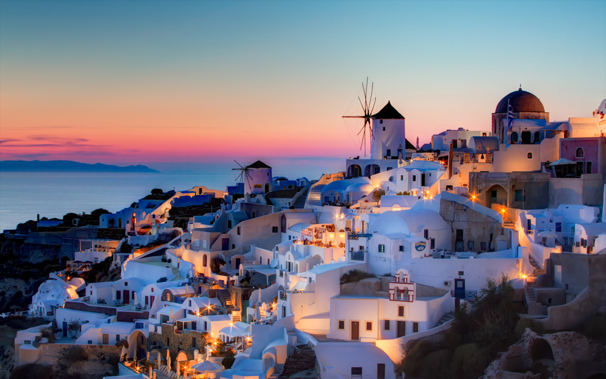 Santorini, Greece - by Pedro Szekely
