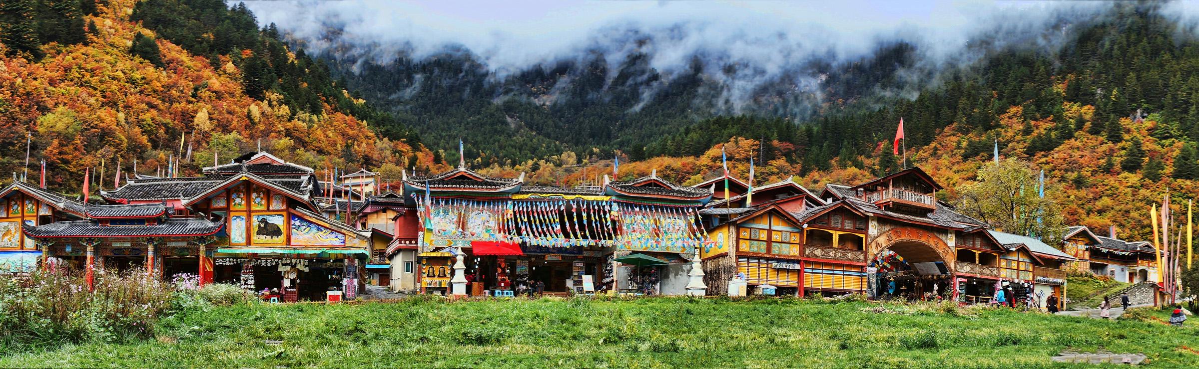 Shuzheng Village, Sichuan, China - by chensiyuan