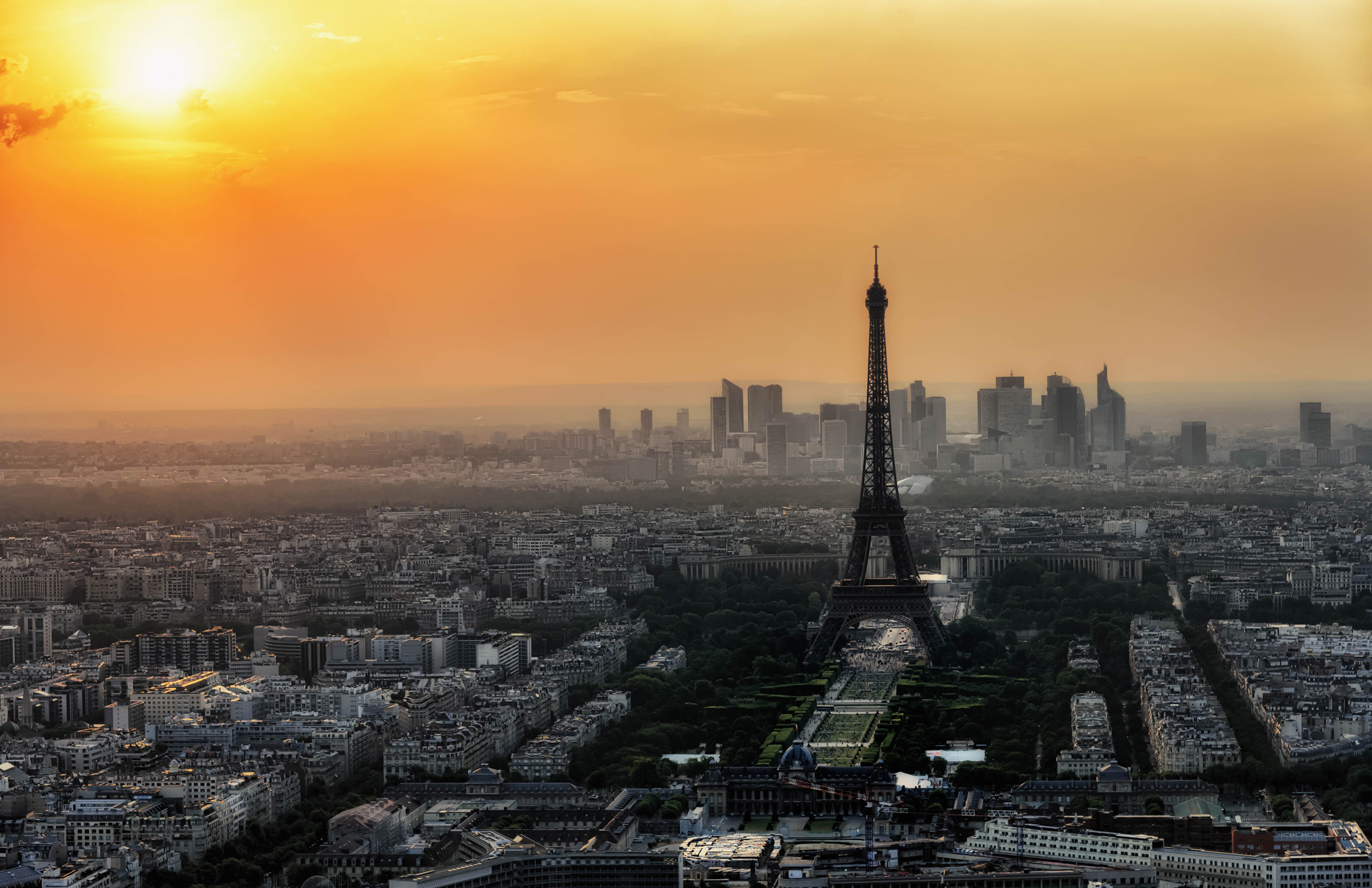 Skyline in Paris, France - by Joe deSousa