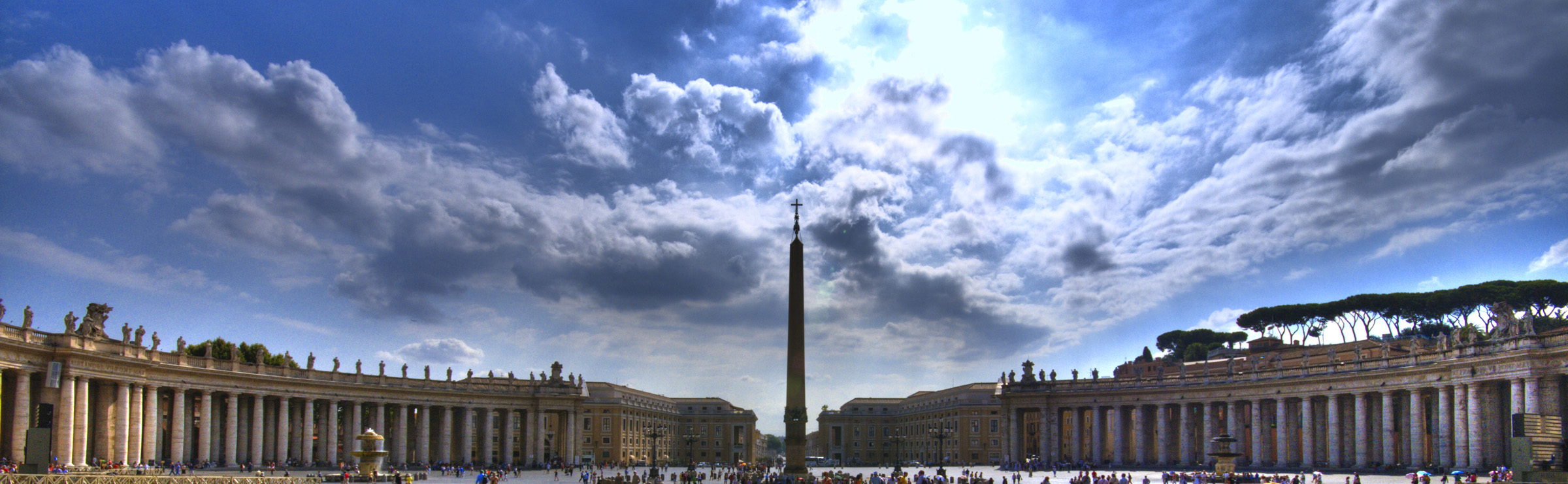 St Peter's Square, Vatican City - by vgm8383