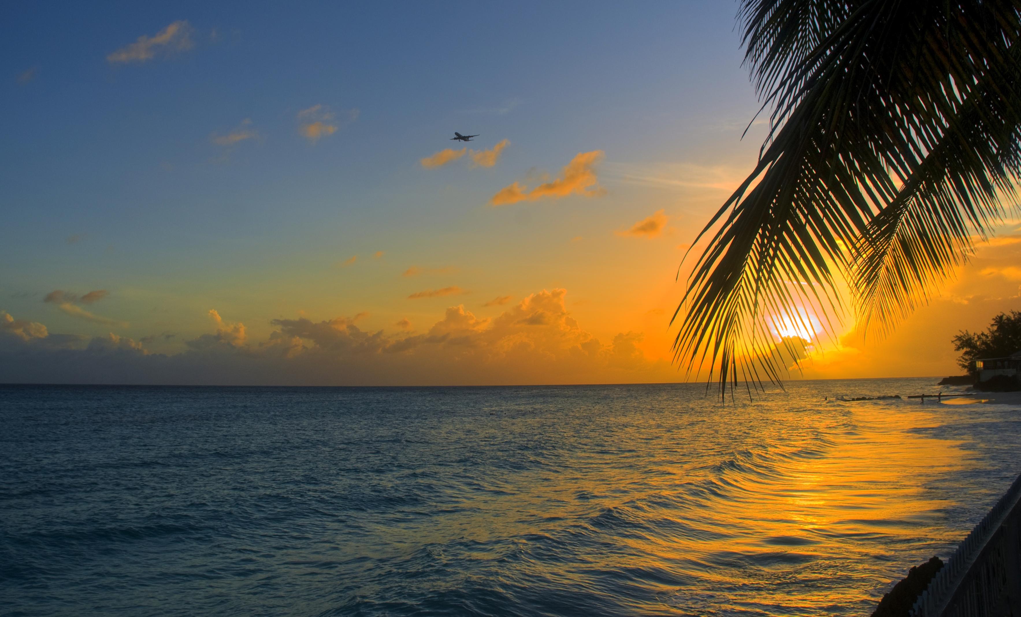 Sunset in Barbados - by Berit Watkin