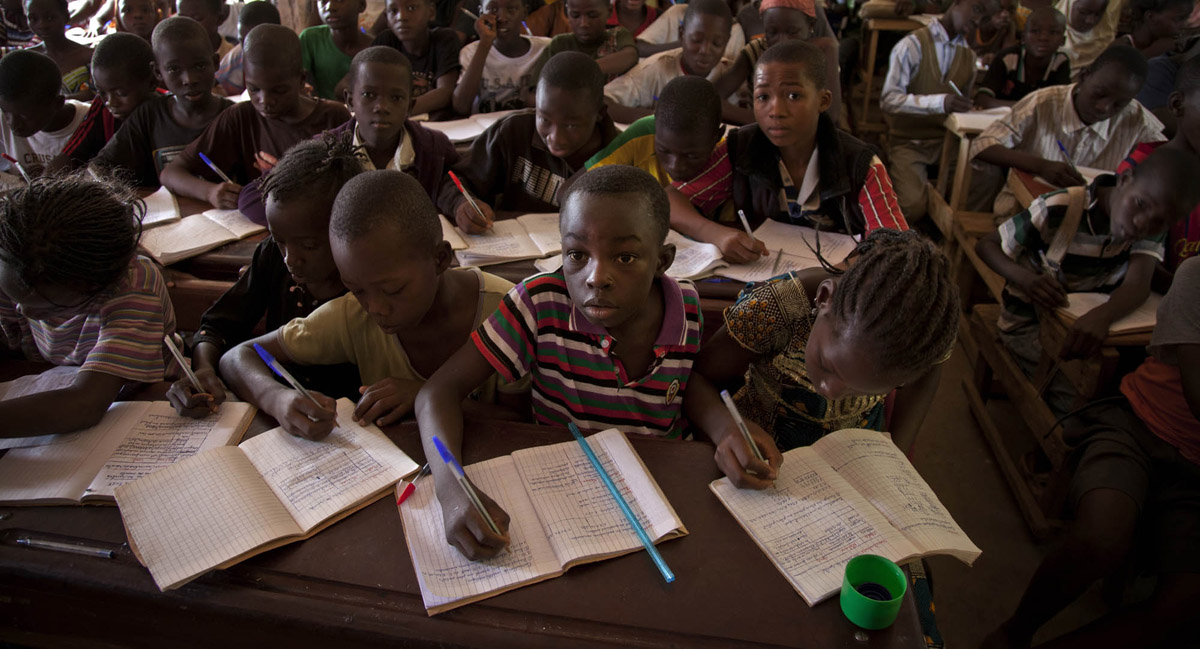 Taliko School in Mali - by UN Mission to Mali