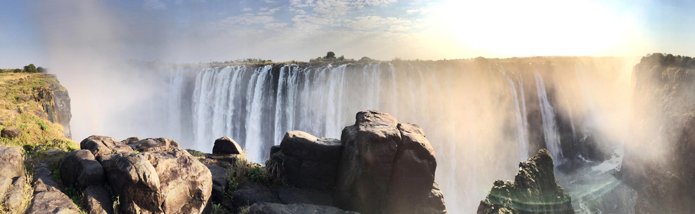 Victoria Falls, ZImbabwe - by Nick Dawson