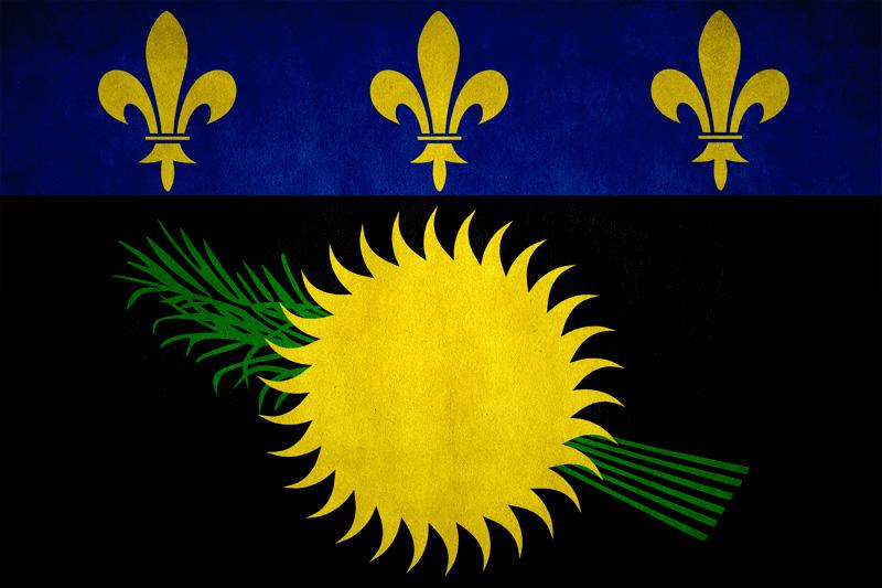 Guadeloupe flag