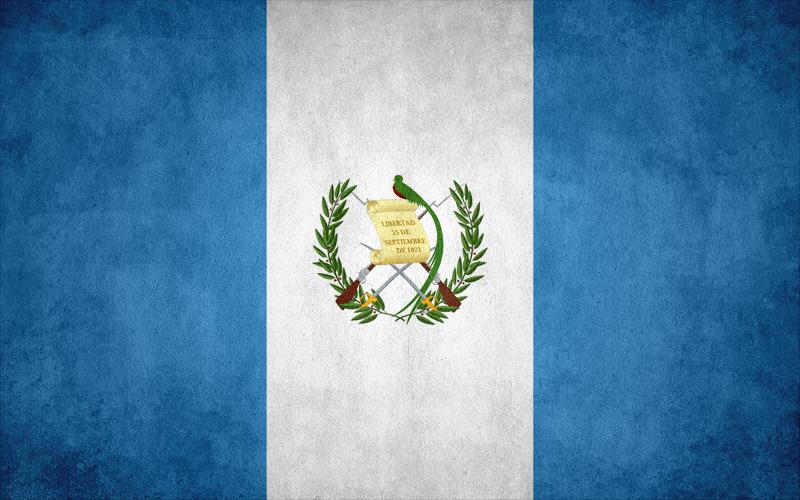 Guatemalan flag