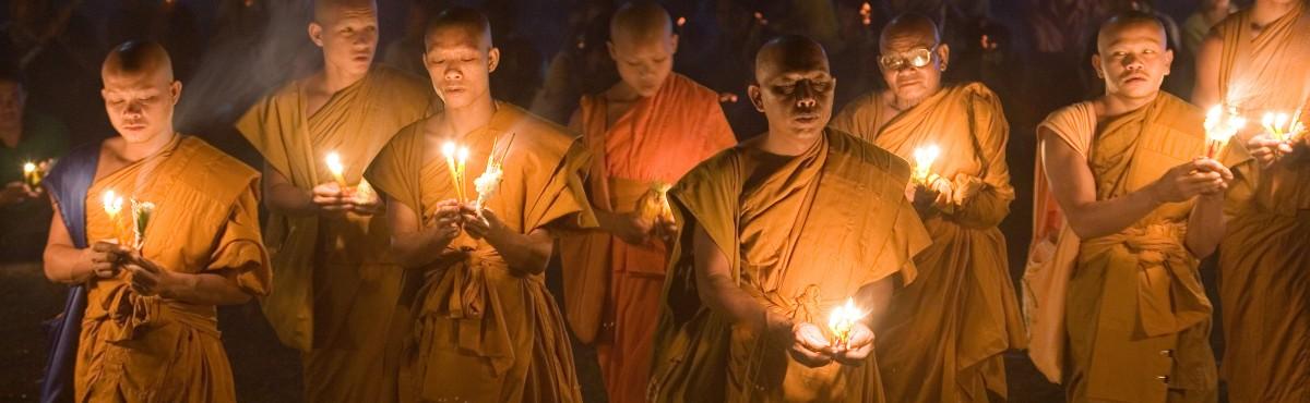 Buddhist monks in Laos - by Wilf Noodermeer on behalf of OMF International