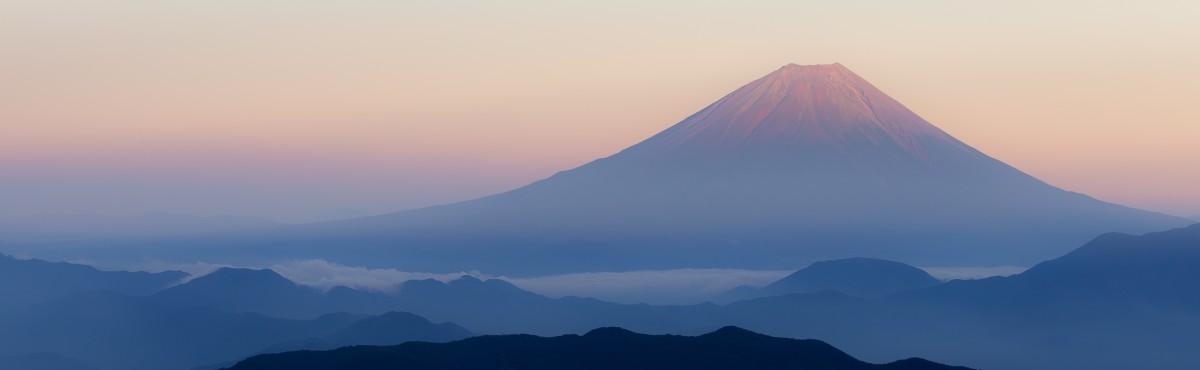 View of Mount Fuji from Kitadake, Japan - AG2016