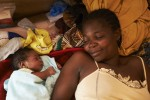 A Woman with her baby son in Central African Republic - by S. Phelps