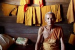 Buddhist monk in a Thai monastery - by Roddy MacKay, OMF International