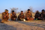 Group of San Bushmen, Botswana - by Mario Micklisch