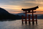 Itsukushima Shrine in Japan - by Dean Pemberton