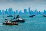Panama City Bay, Panama - by BORIS G