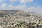 Panorama of Nablus, Palestinian Territories - by Uwe a