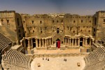 Theatre at Bosra, Syria - by Isaac