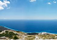 Albanian Riviera from Llogara Pass