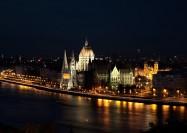 Budapest at Night, Hungary - by Pedro Szekely