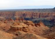 Charyn Canyon, Kazakhstan - by Peretz Partensky