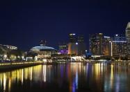 Collyer Quay, Singapore - by William Cho