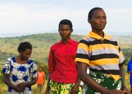 Farmers in the fields, Rwanda - by HarvestPlus