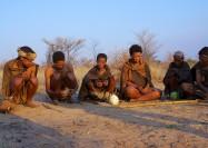 Group of San Bushmen, Botswana - by Mario Micklisch