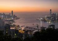 Hong Kong skyline - by Pasu Au Yeung