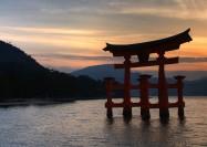 Itsukushima Shrine in Japan - by Dean Pemberton