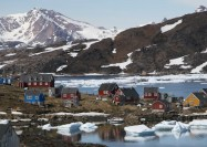 Kulusuk in East Greenland - by Tom Olliver