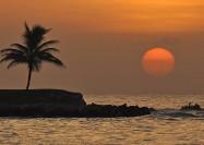 Montegro Bay, Jamaica - by Julie Falk