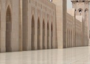Mosque in Muscat, Oman - by Maxence
