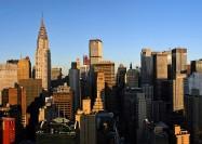 New York City skyline at dawn, United States - by AngMoKio
