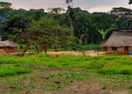 Nselenge village, Democratic Republic of Congo - by Jane Boles