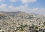Panorama of Nablus, Palestinian Territories - by Uwe a
