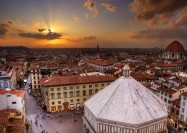 Piazza Del Duomo in Florence, Italy - by Daniel Peckham