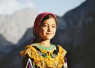 Portrait of a girl in Tajikistan - by Christophe Chenevier