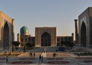 Registan Square, Samarkand, Uzbekistan - by vstijn