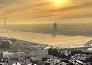Riga skyline, Latvia - by Bas Wallet