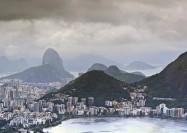 Rio de Janeiro, Bazil, in clouds - by Mariusz Kluzniak