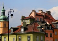 Rooftops in Warsaw, Poland - by zsoolt