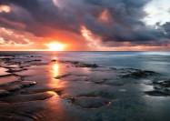 Sunset in Eua, Tonga - by Matti Vuorre