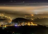 Taipei City, Taiwan, at night - by wei zheng wang