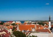 Tallinn skyline, Estonia - by Borja Iza