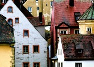 The old city of Regensburg, Gemany - by Mariano Mantel