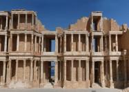 Theatre at Sabratha, Libya - by weesquirt