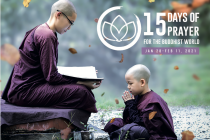 15 days of prayer for the Buddhist world